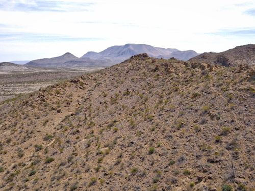 40 Acres, Nice Hills : Terlingua : Brewster County : Texas
