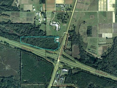 Land For Development At I-10 Interc : Quincy : Gadsden County : Florida