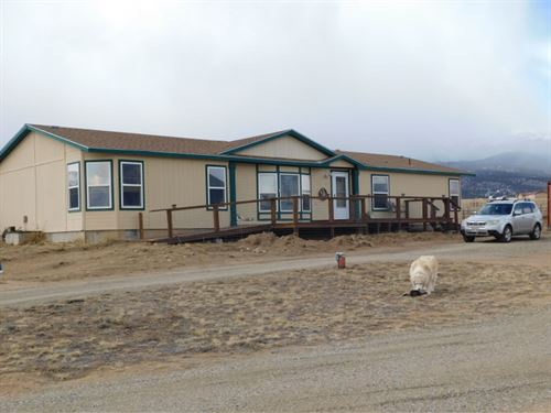 3012349 - 2.3 Acres With Large Home : Buena Vista : Chaffee County : Colorado