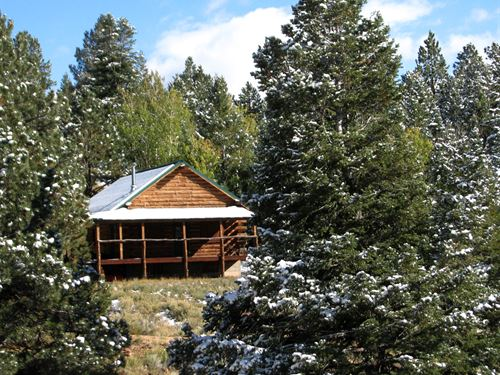 Cabin On The Miquon : Westcliffe : Custer County : Colorado