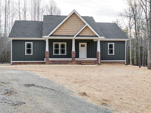 3 Acres In Goochland W/ New Home : Sandy Hook : Goochland County : Virginia