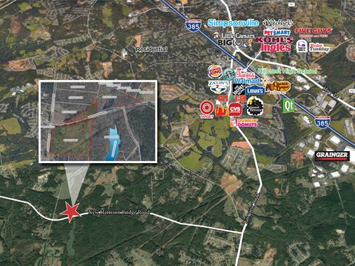 New Harrison Bridge Road : Simpsonville : Greenville County : South Carolina