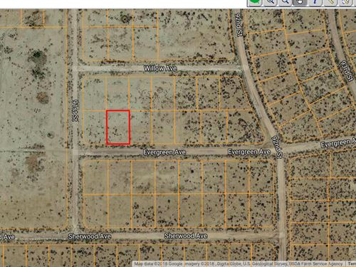 .23 Acres In California City, CA : California City : Kern County : California