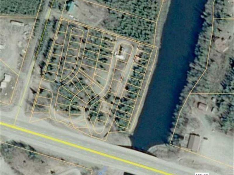 Best Recreational Lot on The Moose : Sterling : Kenai Peninsula Borough : Alaska
