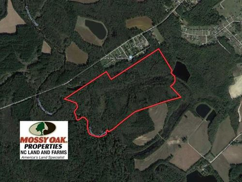 Under Contract, 115 Acres of Hunt : Wilson : North Carolina