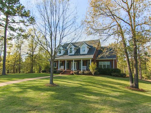 Brick Home On 40 Acres Near Auburn : Auburn : Lee County : Alabama