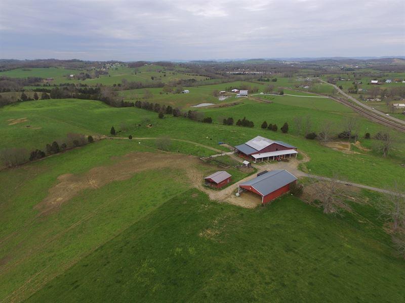 80 Acre Farm In Hamblen County : Bulls Gap : Hamblen County : Tennessee