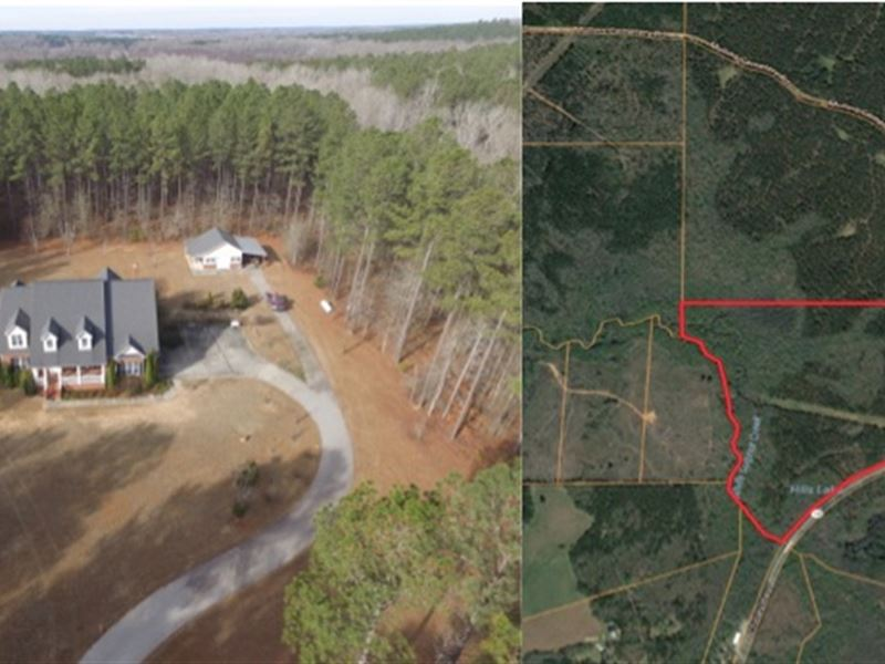Custom Home An 100 Acres Big Timber Land For Sale Pine