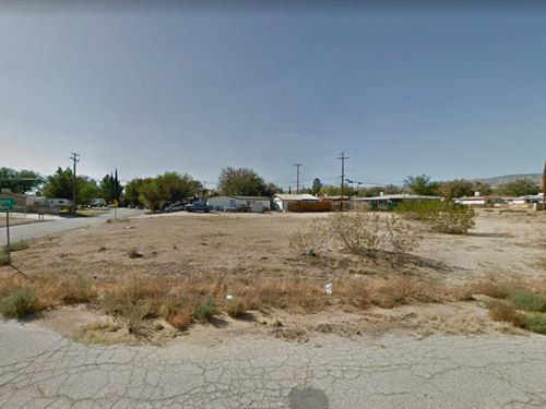 .17 Acres In Mojave, CA : Mojave : Kern County : California