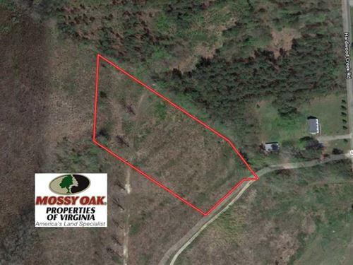 3.72 Acres of Rural Residential OR : Stoney Creek : Dinwiddie County : Virginia