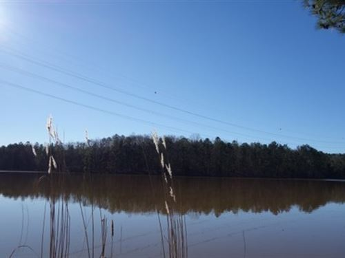 Waterfront On Exclusive Reservoir : Winnsboro : Fairfield County : South Carolina