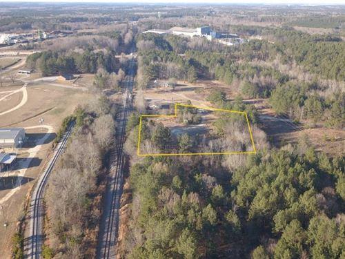 Warrenton Rail Spur : Warrenton : Warren County : Georgia