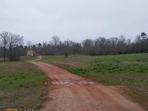 4.52 Acres With Shop & Home Slab : Maysville : Banks County : Georgia