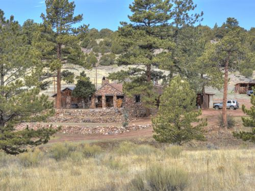 Old Stone Cottage Ranch : Cotopaxi : Fremont County : Colorado