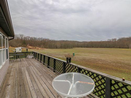 Kestone Rd - 32 Acres : Vinton : Jackson County : Ohio