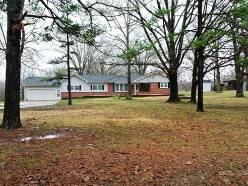Updated Home on 21 Acres For Sale : Poplar Bluff : Butler County : Missouri