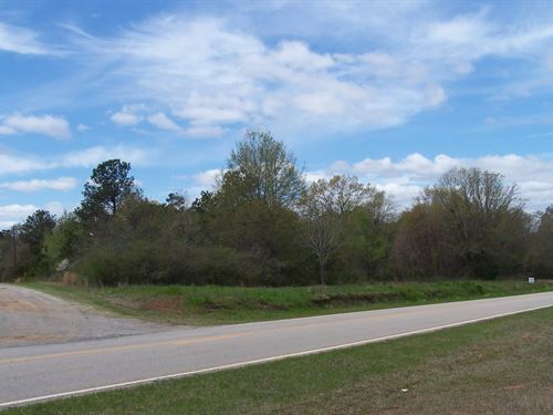 Beautiful Country Setting Homesite : Louisville : Jefferson County : Georgia