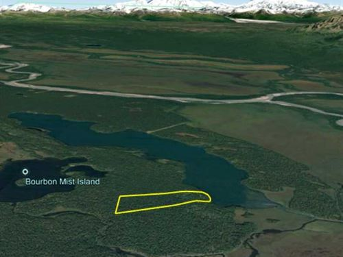 39.70 Acres on Hewitt Lake in Alas : Skwentna : Matanuska-Susitna Borough : Alaska