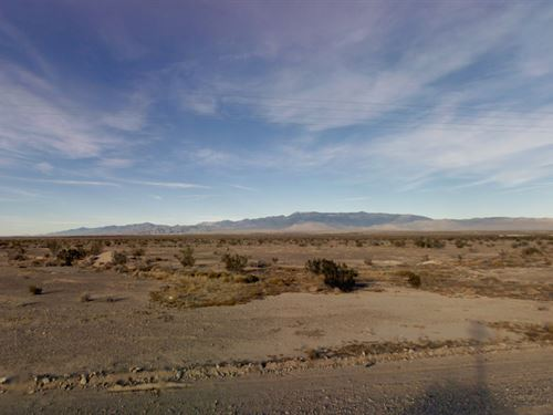 Inyo County, Fl $35,000 Neg : Pahrump : Inyo County : California