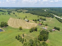 349 Acre Farm In Desirable Location : Santa Fe : Maury County : Tennessee