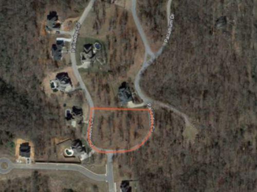 Residential Executive 2 Acre Lot : Bentonville : Benton County : Arkansas
