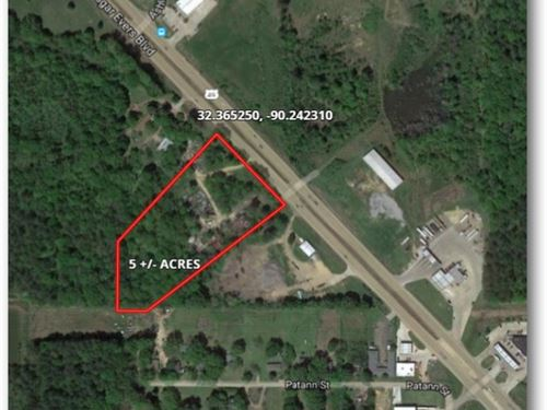 5 Acres In Hinds County On Medgar : Cynthia : Hinds County : Mississippi