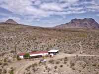 Nice Mobile Home On 40 Acres : Alpine : Brewster County : Texas