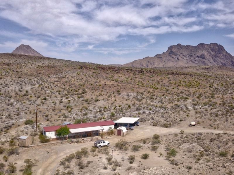 Nice Mobile Home On 40 Acres : Land for Sale : Alpine ...