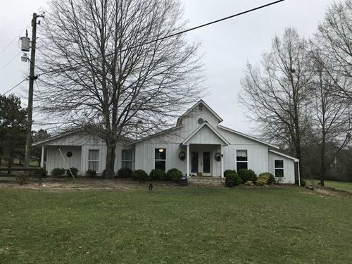 Ennis Property on Hwy. 28 in Livin : Livingston : Sumter County : Alabama
