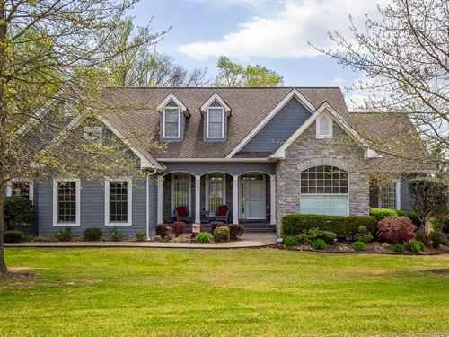 Custom Built Lakefront Home W/Dock : Rutledge : Grainger County : Tennessee