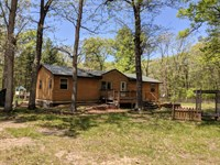 Secluded Ranch Home : Bitely : Newaygo County : Michigan