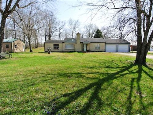 Home on 7 Acres For Sale in Wayne : Puxico : Wayne County : Missouri