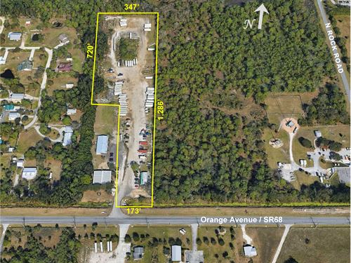 8Ac Site With Commercial Zoning : Fort Pierce : St. Lucie County : Florida