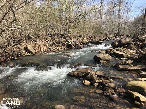 606 Acre Ozark Mountain Recreati : Rupert : Van Buren County : Arkansas