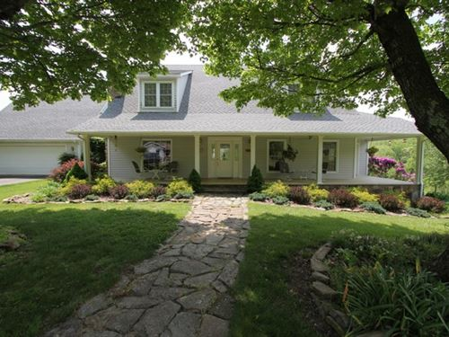 Country Home On 5.6 Acres : Galax : Grayson County : Virginia