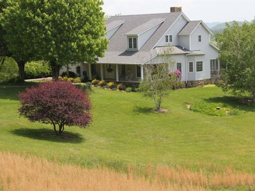 4149 Sq. Ft. Home On 67.181 Acres : Galax : Grayson County : Virginia