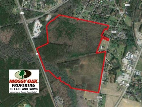 115 Acres of Development Land For : Plymouth : Washington County : North Carolina
