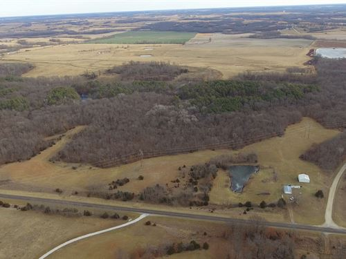 137 Acre Recreational Tract : Huntsville : Randolph County : Missouri