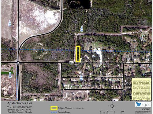Apalachicola Lot : Apalachicola : Franklin County : Florida