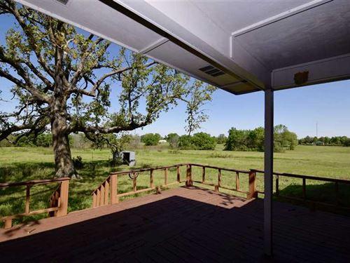 4 Bedroom 2 Bathroom Brick Home Mc : Garvin : McCurtain County : Oklahoma