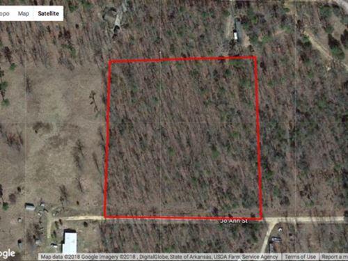 Beautiful 3.5 Acre Property lo : Evening Shade : Sharp County : Arkansas