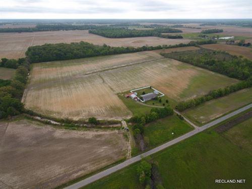 39 Ac, Small Irrigated Farm, Pric : Bee Bayou : Richland Parish : Louisiana