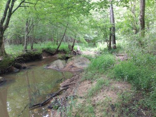 Horton Creek : Sparta : Hancock County : Georgia