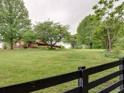 50 Ac & Home W/ Unbelievable Views : Columbia : Maury County : Tennessee