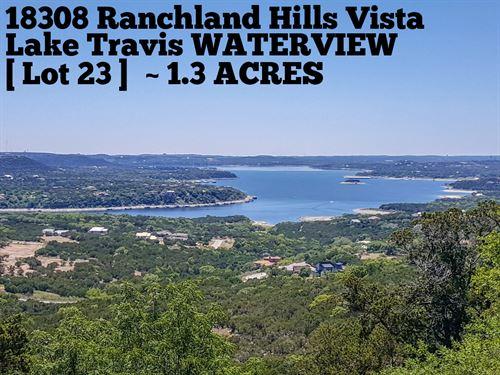 1.30 Acres In Travis County : Jonestown : Travis County : Texas