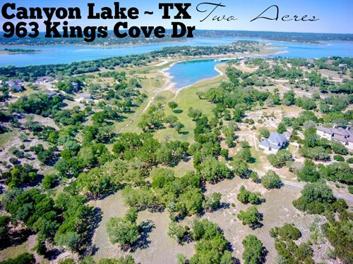 2 Acres In Comal County : Canyon Lake : Comal County : Texas