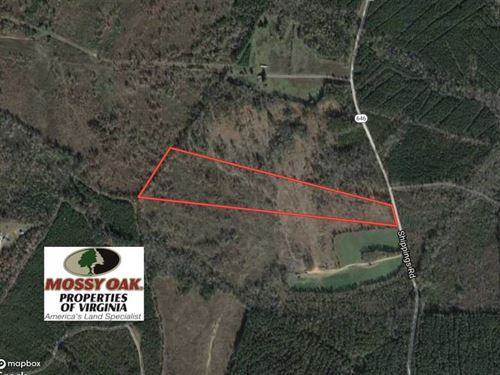 Reduced, 27.5 Acres of Prime Hunt : Dinwiddie : Virginia