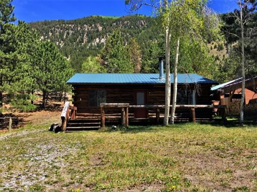 Pine Street Log Cabin : Lake City : Hinsdale County : Colorado