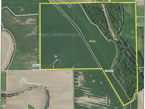 Prime Tillable And Hunting Farm : Mozier : Calhoun County : Illinois