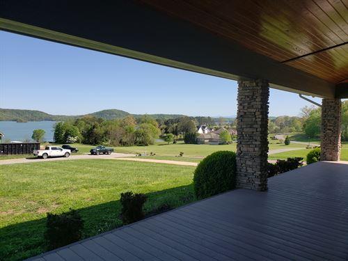 Executive Cherokee Lake View Home : Rutledge : Grainger County : Tennessee